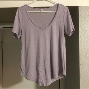 BP LAVENDER V NECK
